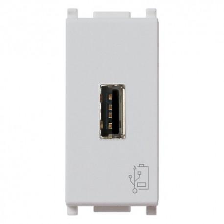 Unité alimentation USB 5V 1,5A 1M Silver